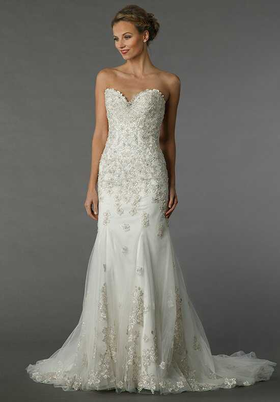 Dennis Basso for Kleinfeld 14049 Sheath Wedding Dress