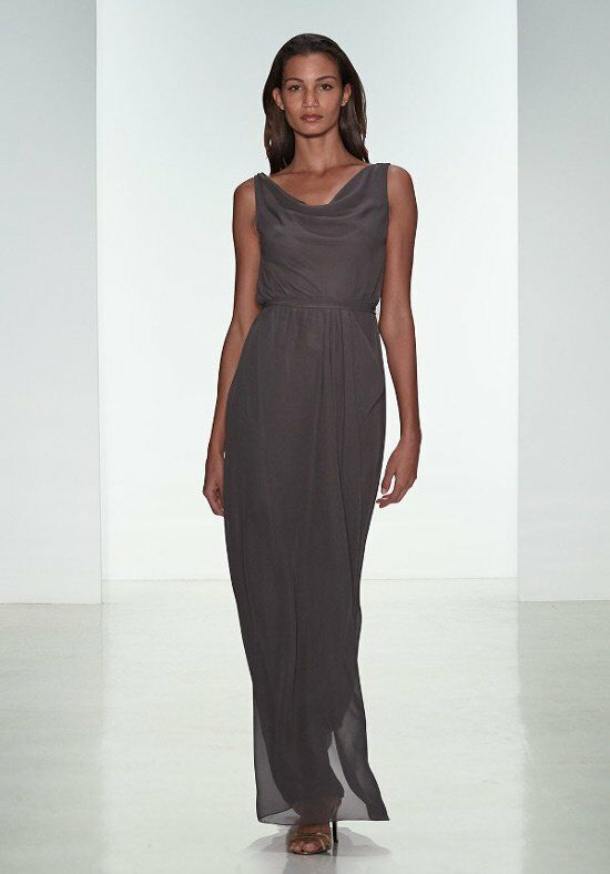 Nouvelle Amsale Bridesmaids N321 Scoop Bridesmaid Dress