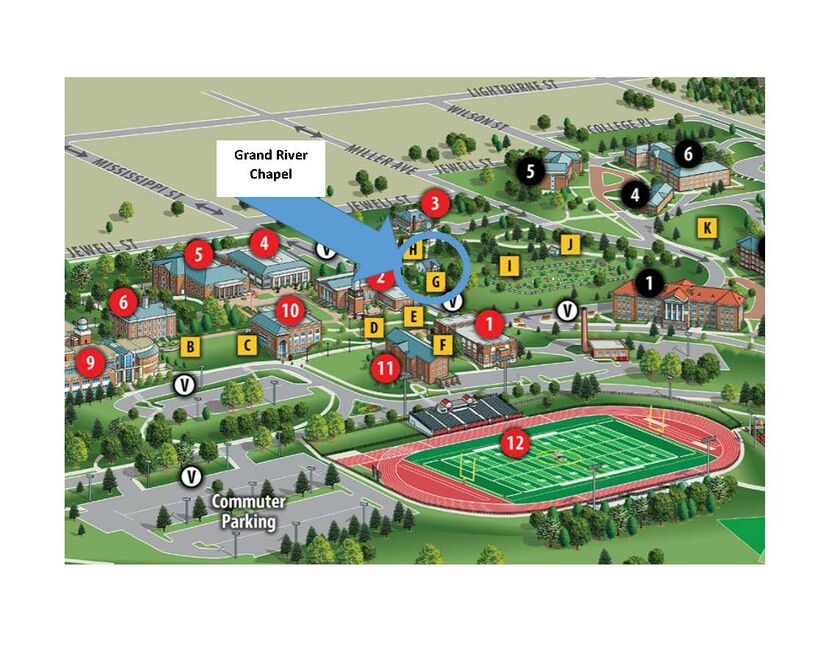 Campus Map William Jewell College