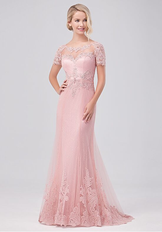 Val Stefani Celebrations MB7633 Pink Mother Of The Bride Dress