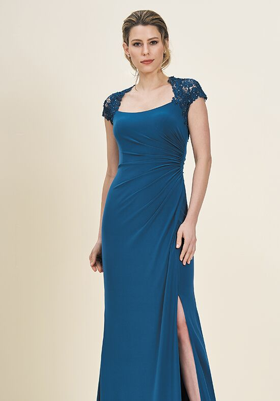 Jade J195058 Blue Mother Of The Bride Dress