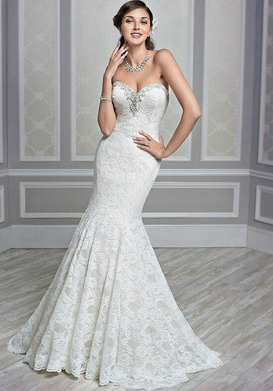 Kenneth Winston 1595 Mermaid Wedding Dress