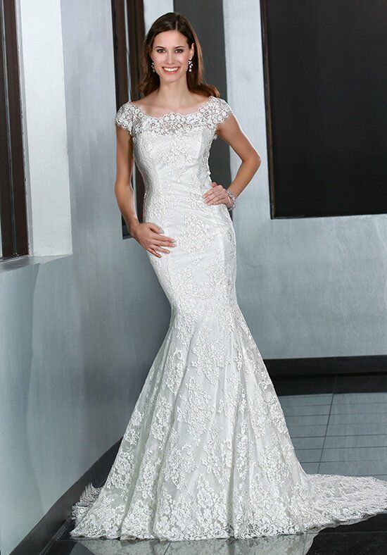 DaVinci Bridal 50195 Mermaid Wedding Dress