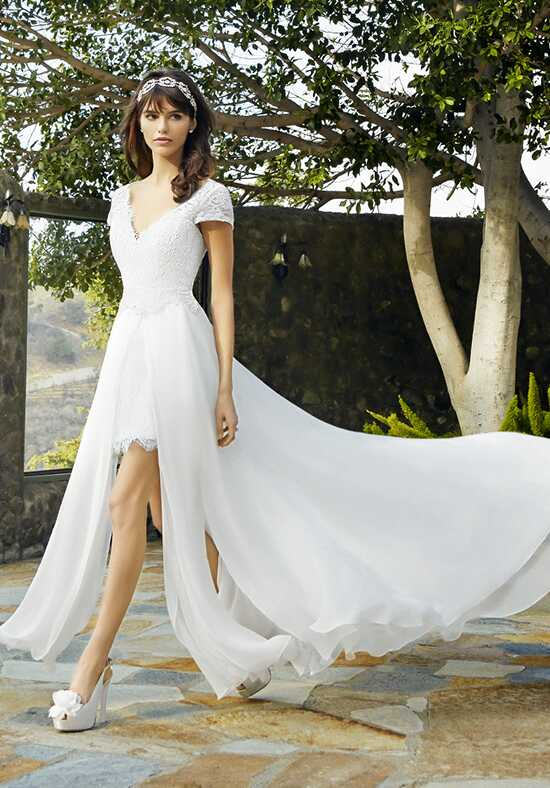 Moonlight Collection J6501 Sheath Wedding Dress