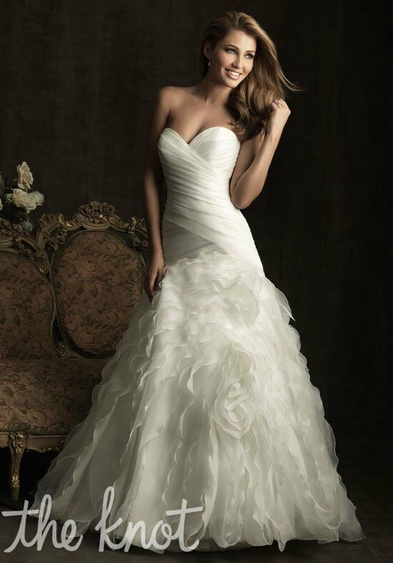 Allure Bridals 8921 A-Line Wedding Dress