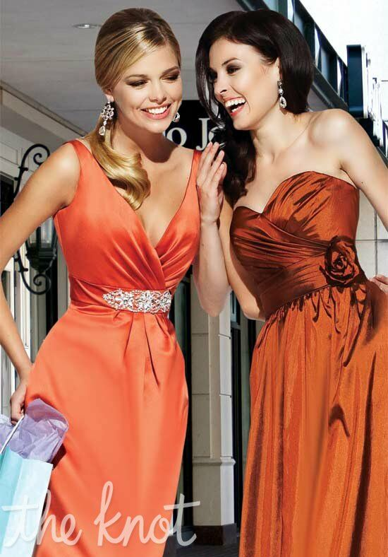 Impression Bridesmaids 20021/20015 Strapless, Sweetheart, V-Neck Bridesmaid Dress