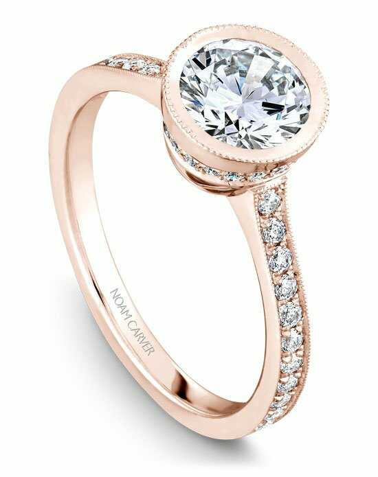 Noam Carver B025-02RS-100A Engagement Ring photo