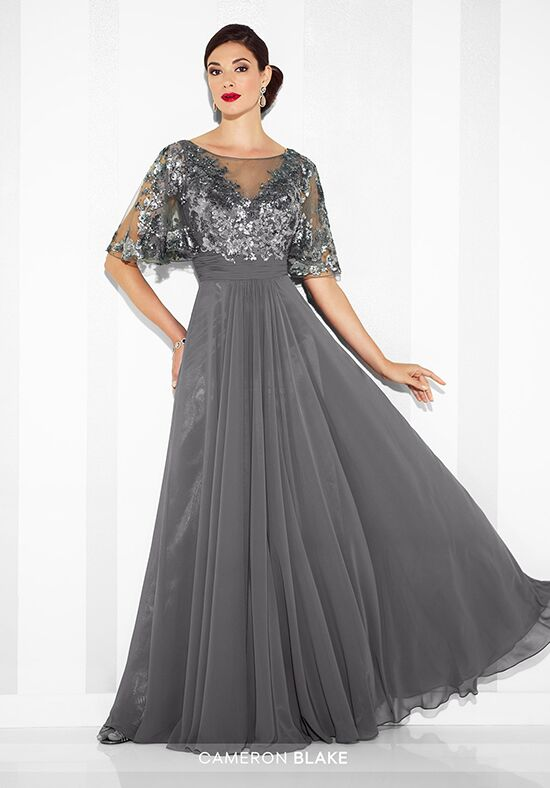 Cameron Blake 117622 Blue Mother Of The Bride Dress