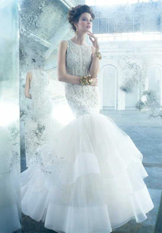 Lazaro 3301 Mermaid Wedding Dress
