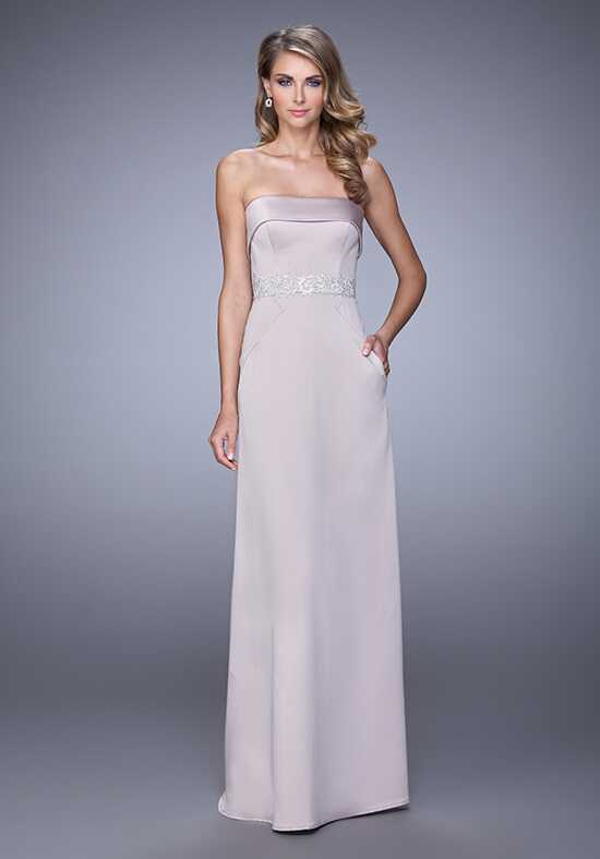 La Femme Evening 21554 Champagne Mother Of The Bride Dress