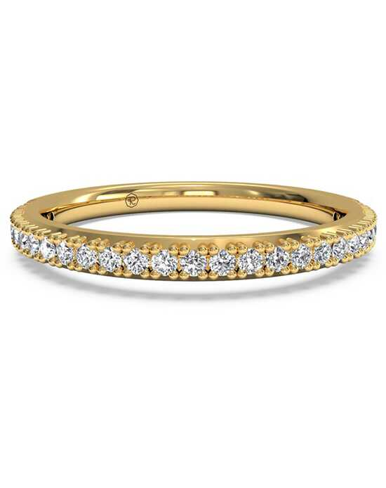 Ritani Women's French-Set Diamond Wedding Band - in 18kt Yellow Gold (0.16 CTW) Gold Wedding Ring