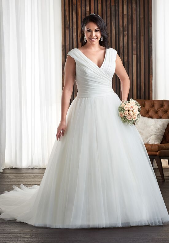 Unforgettable by Bonny Bridal 1702 Ball Gown Wedding Dress