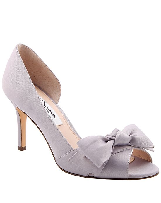 Nina Bridal Wedding Accessories Forbes_Silver_2 Silver Shoe