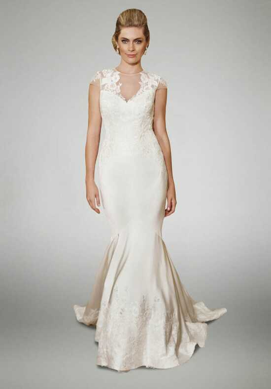 Matthew Christopher Azalea Mermaid Wedding Dress