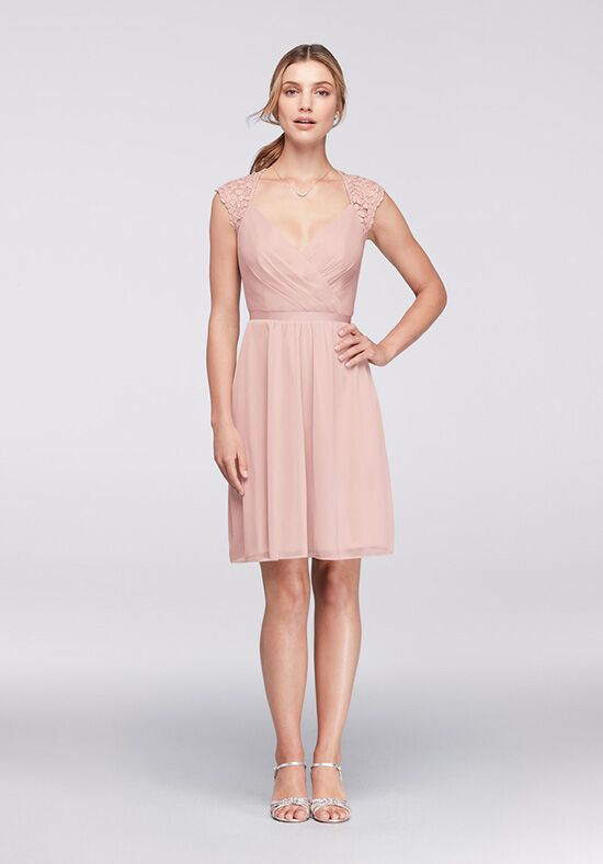 David's Bridal Collection David's Bridal Style F19442 Sweetheart Bridesmaid Dress