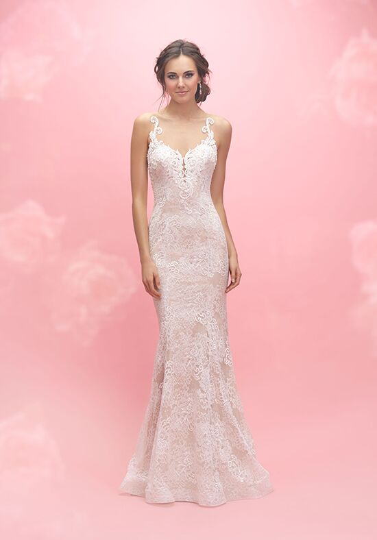 Allure Romance 3060 Sheath Wedding Dress