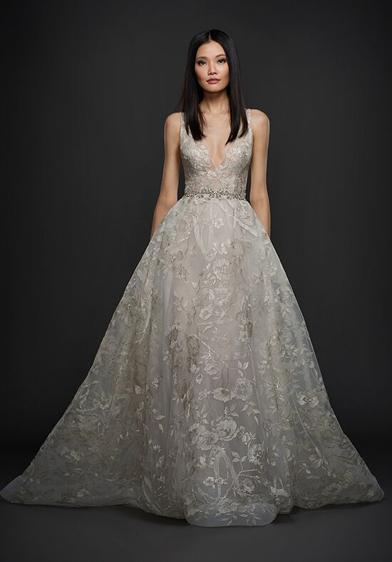 Lazaro 3759 A-Line Wedding Dress
