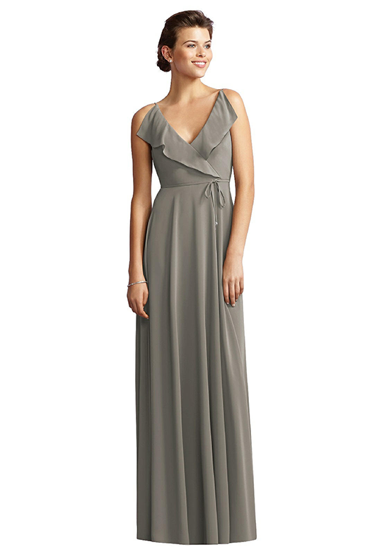 Jy Jenny Yoo JY517 V-Neck Bridesmaid Dress