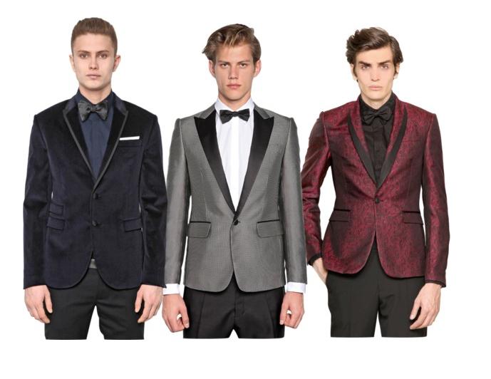 Image result for black tie optional men