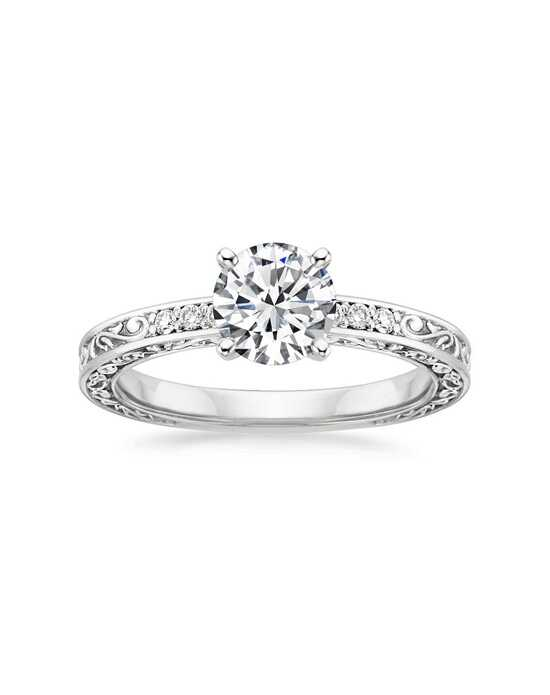 Brilliant Earth Vintage Round Cut Engagement Ring