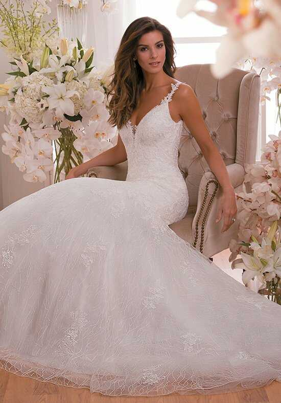 Jasmine Collection F171005 Mermaid Wedding Dress