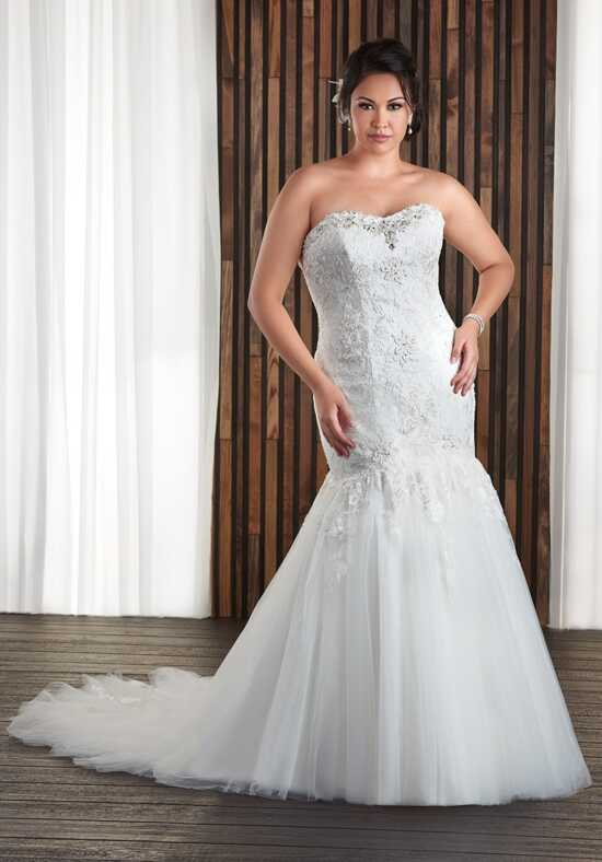 Unforgettable by Bonny Bridal 1708 Mermaid Wedding Dress