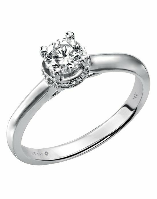 Simply Vera Vera Wang 31-SA34913W E White Gold Wedding Ring