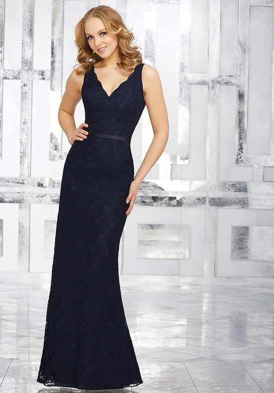 Morilee by Madeline Gardner Bridesmaids Style 21541 V-Neck Bridesmaid Dress