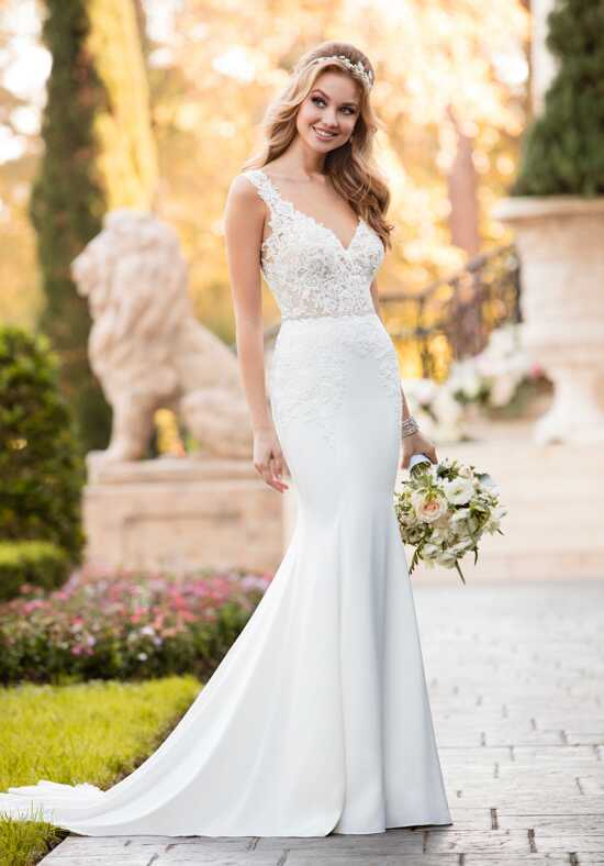 Stella York 6476 Sheath Wedding Dress