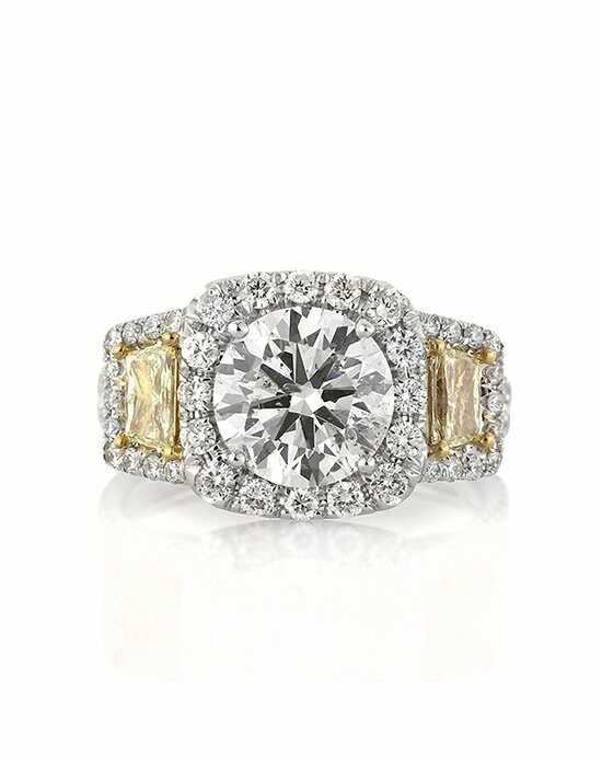 Mark Broumand 3.41ct Round Brilliant Cut Diamond Engagement Anniversary Ring Engagement Ring photo