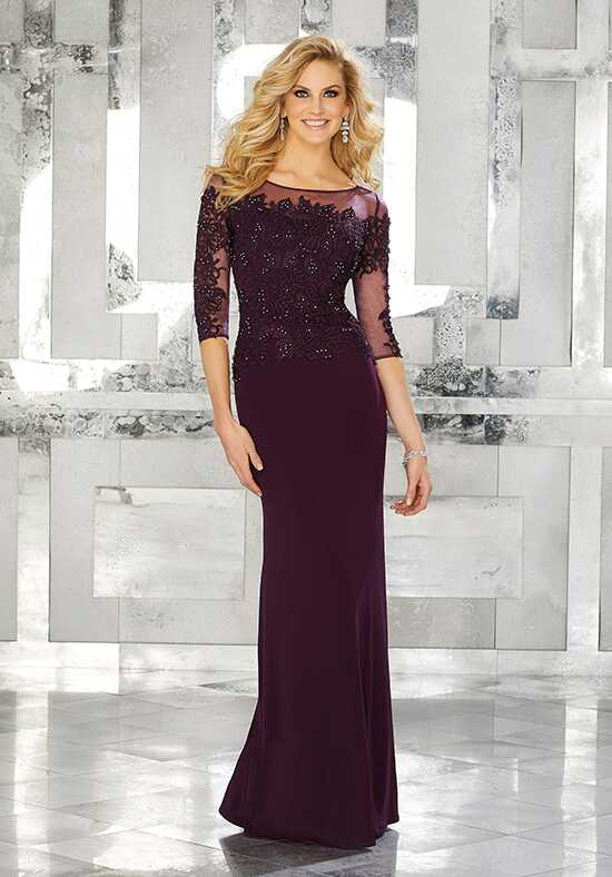 MGNY 71624 Brown Mother Of The Bride Dress