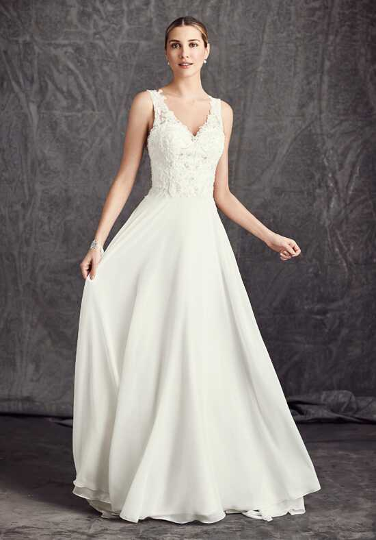 Kenneth Winston: Ella Rosa Collection BE288 A-Line Wedding Dress