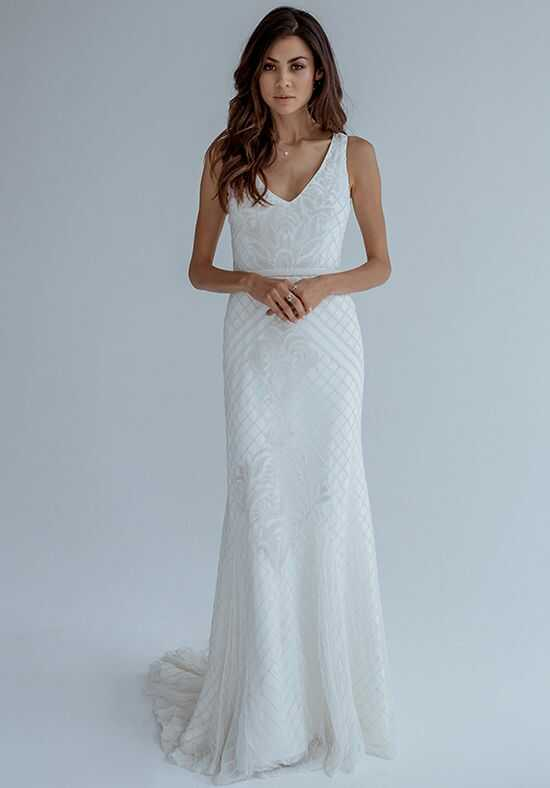 KAREN WILLIS HOLMES Whitney Mermaid Wedding Dress