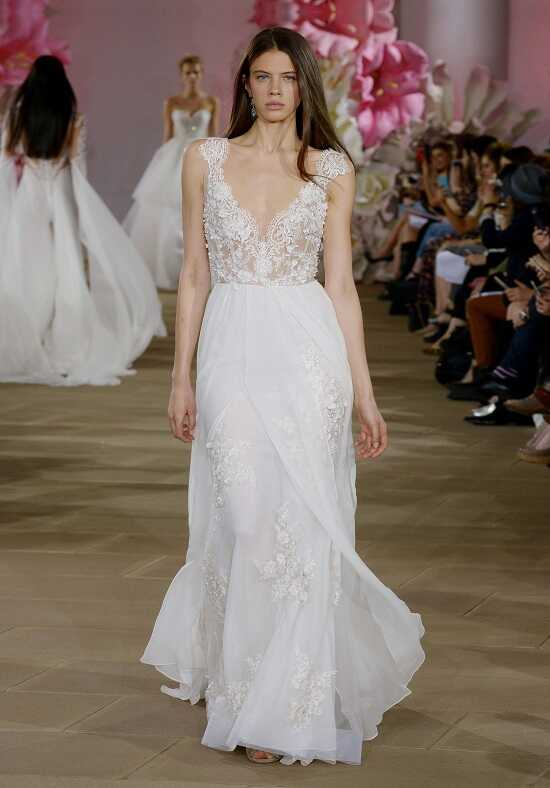 Ines Di Santo Airy Sheath Wedding Dress