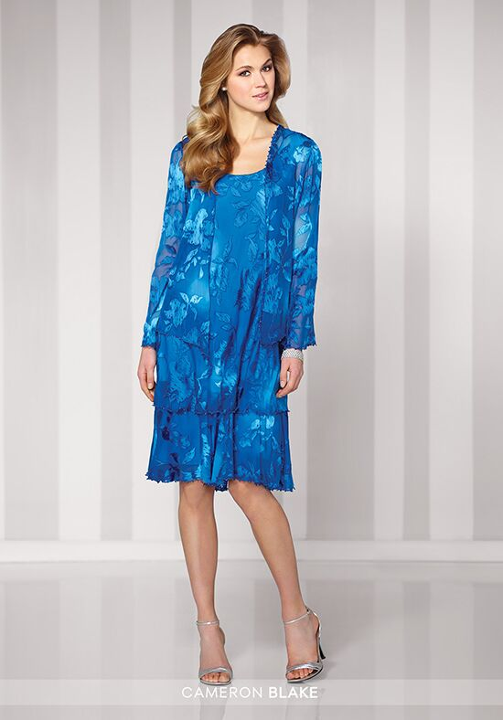 Cameron Blake 216698 Blue Mother Of The Bride Dress