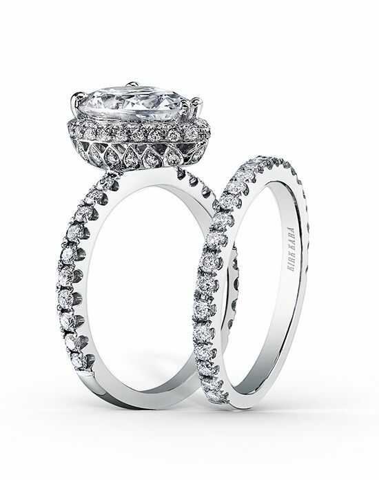 Kirk Kara Glamorous Pear Cut Engagement Ring