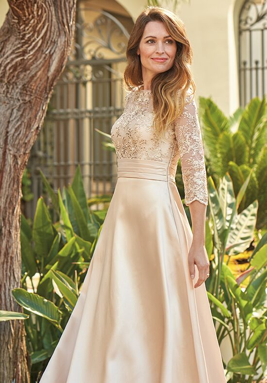 Jade J205066 Gold Mother Of The Bride Dress