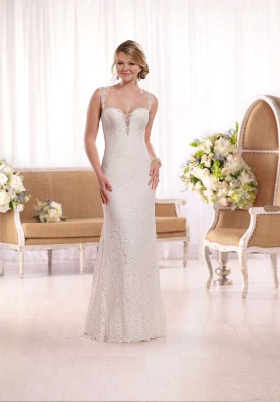Essense of Australia D2056 Sheath Wedding Dress