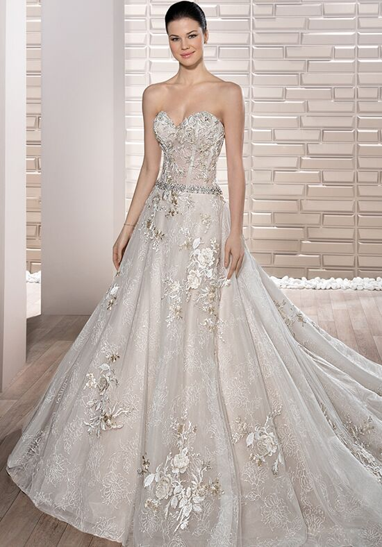 Demetrios 689 A-Line Wedding Dress