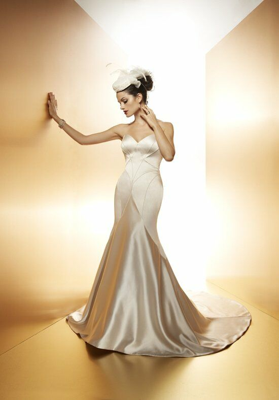 Matthew christopher vivian wedding dress the knot for Matthew christopher wedding dress prices
