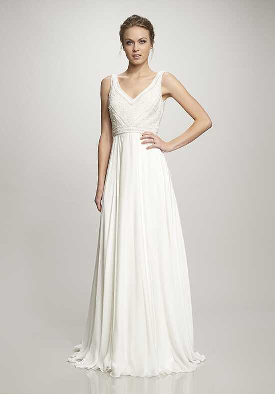 THEIA Nava Sheath Wedding Dress