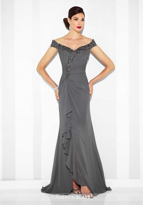 Cameron Blake 117602 Gray Mother Of The Bride Dress