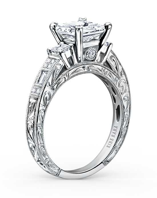 Kirk Kara Charlotte Collection K1383-R Engagement Ring photo
