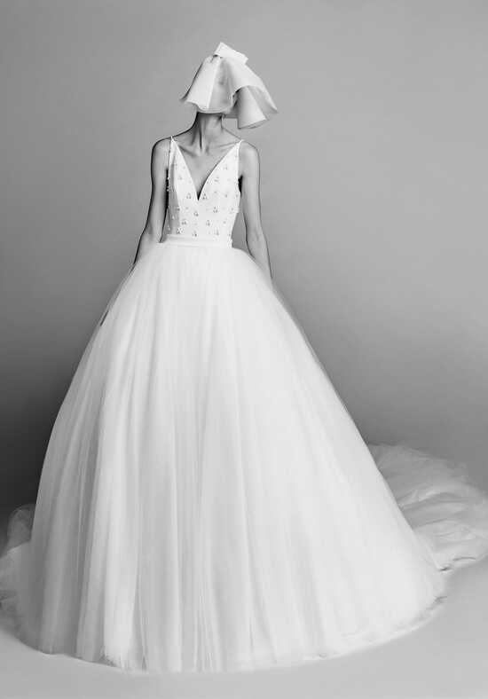 Viktor&Rolf Mariage Open Back Tulle Gown Ball Gown Wedding Dress