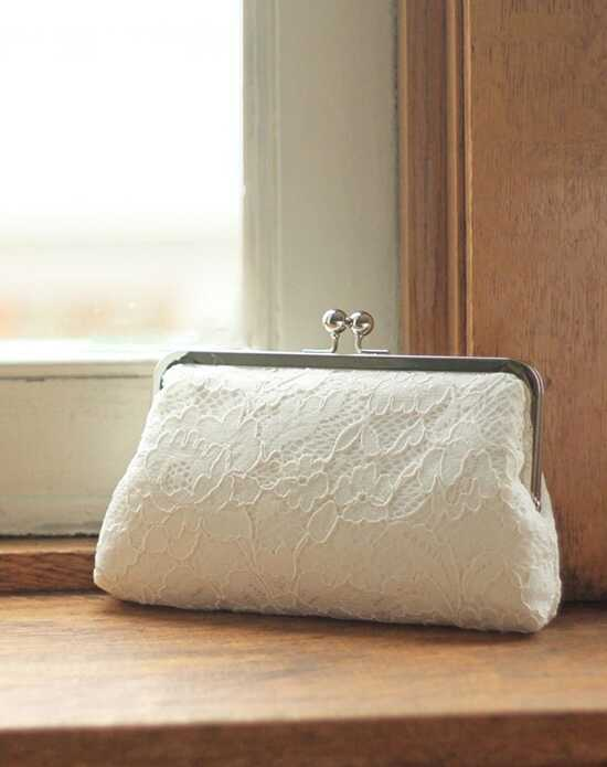 Davie & Chiyo | Clutch Collection Antoinette Clutch: Ivory Ivory Clutches + Handbag