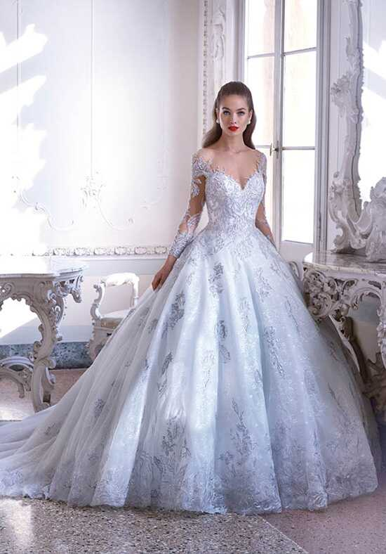 Platinum by Demetrios DP397 - Jolie Ball Gown Wedding Dress