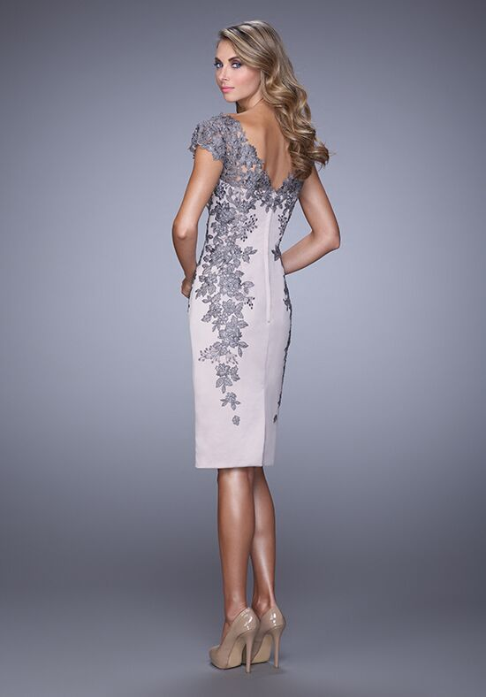 La Femme Evening 21683 Champagne Mother Of The Bride Dress