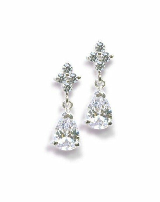 Anna Bellagio DOMINIQUE CUBIC ZIRCONIA EARRINGS Wedding Earring photo