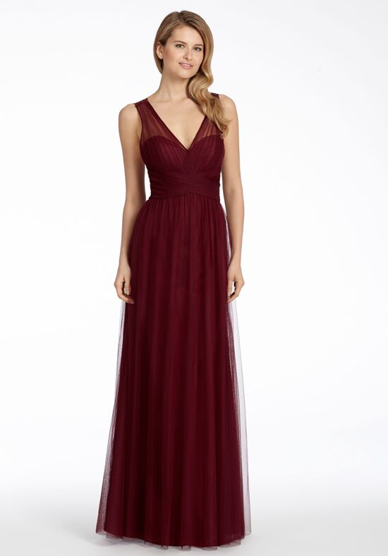 Hayley Paige Occasions 5707 V-Neck Bridesmaid Dress