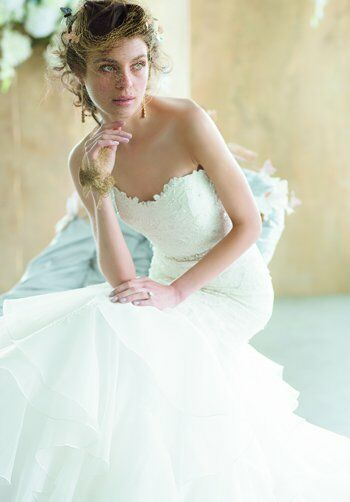 EVE OF MILADY 1506 Mermaid Wedding Dress